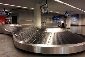 traitement des bagages au départ